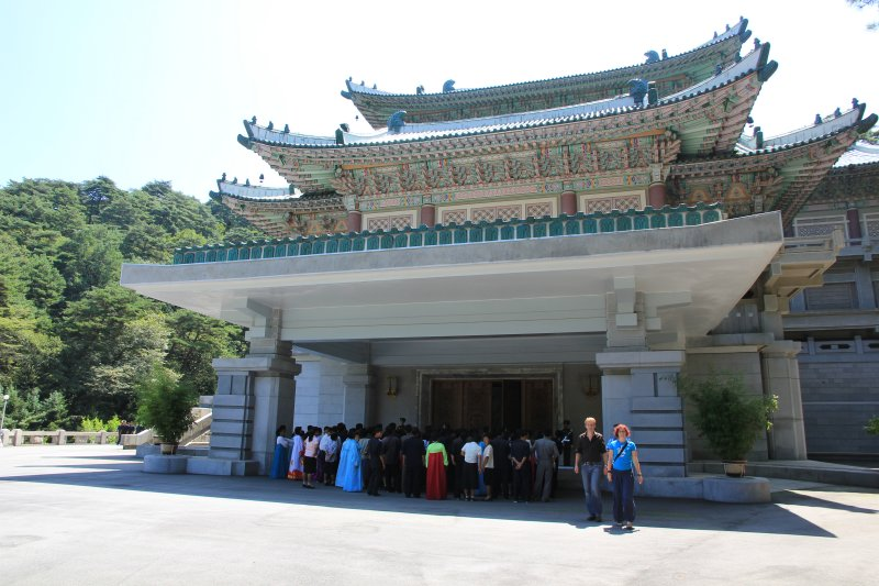 Kim Il Sung pavillion