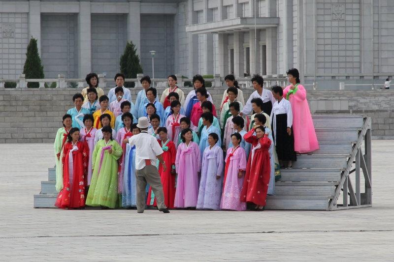Kumsusan Memorial Palace (Kim Il Sungs mausoleum)