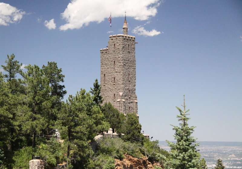 Colorado Springs:  Will Rogers Shrine