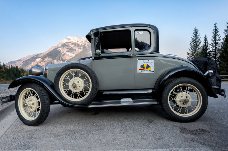 1929 Model A Ford Coup