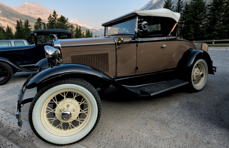 1930 Model A Ford Deluxe Roadster Convertible