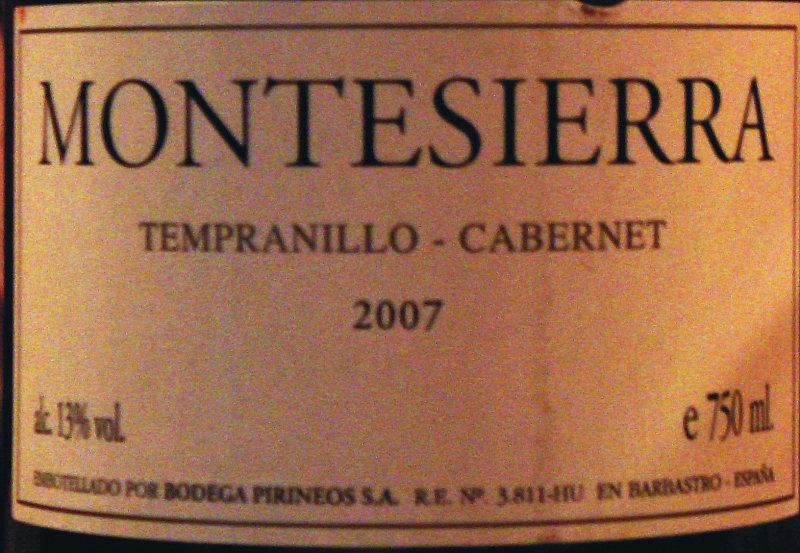 España / Somontano / 2007
