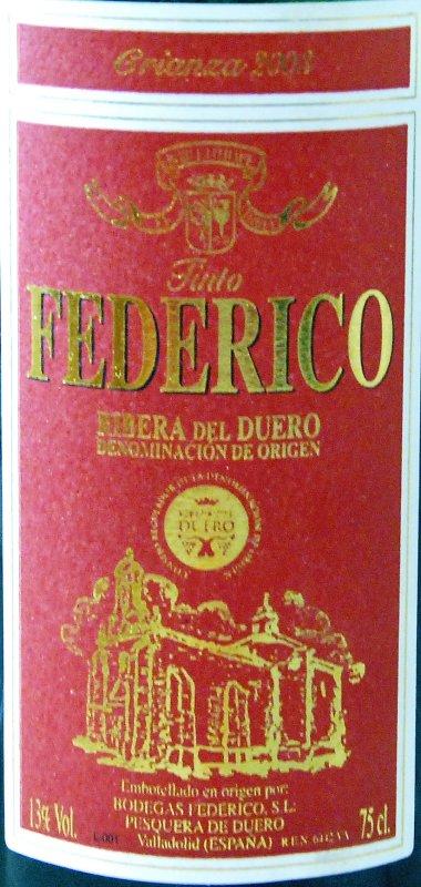 España / ribera del duero / 2001