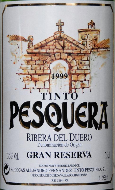 España / Ribera del Duero / 1999