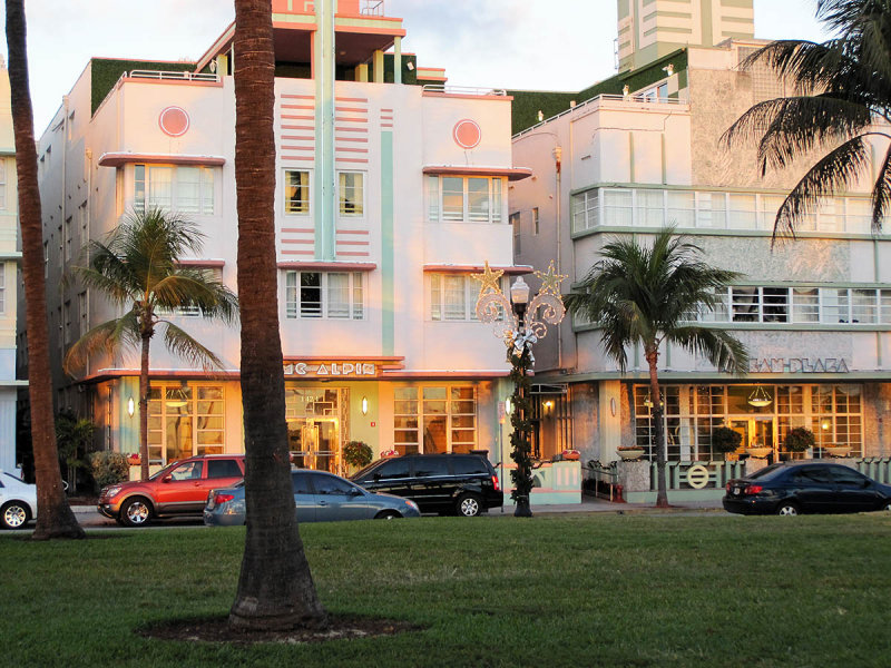 Place I stayed on Ocean Dr.,South Beach, Miami