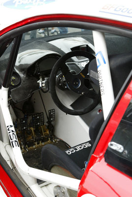 Ford Fiesta Rally interior