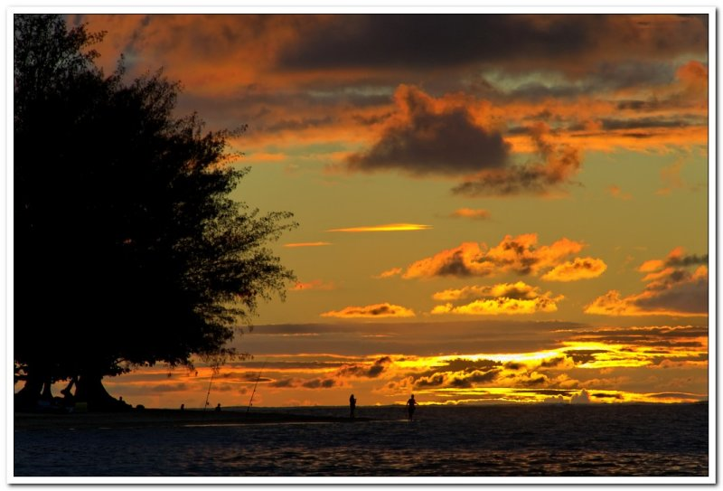Anini Beach Sunset
