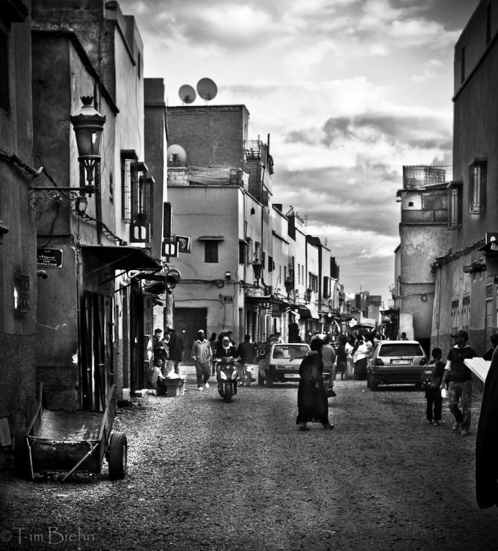 Back Streets Of Marrakech