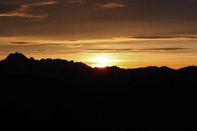 December<br>Stuart Range Sunrise</br>