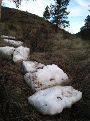 ice chunks