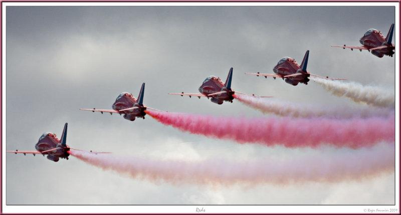 Reds RED ARROWS RAF