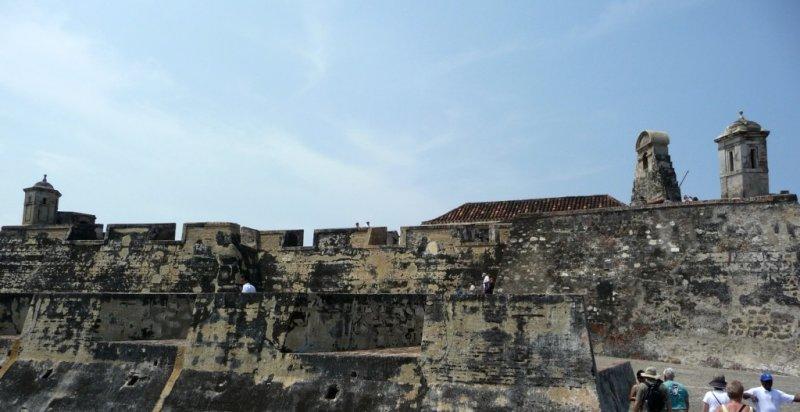 Inside the Walls of San Felipe de Barajas