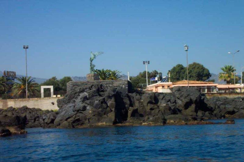 On a boat trip at sicilia