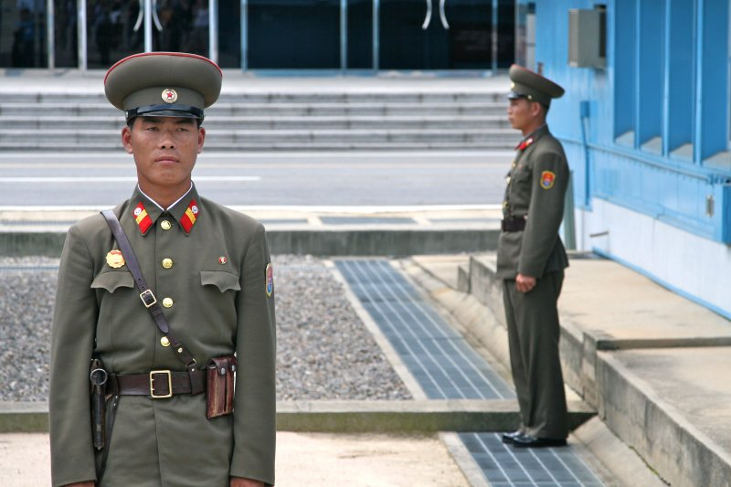 Guarding the Demarcation Line, Panmunjong