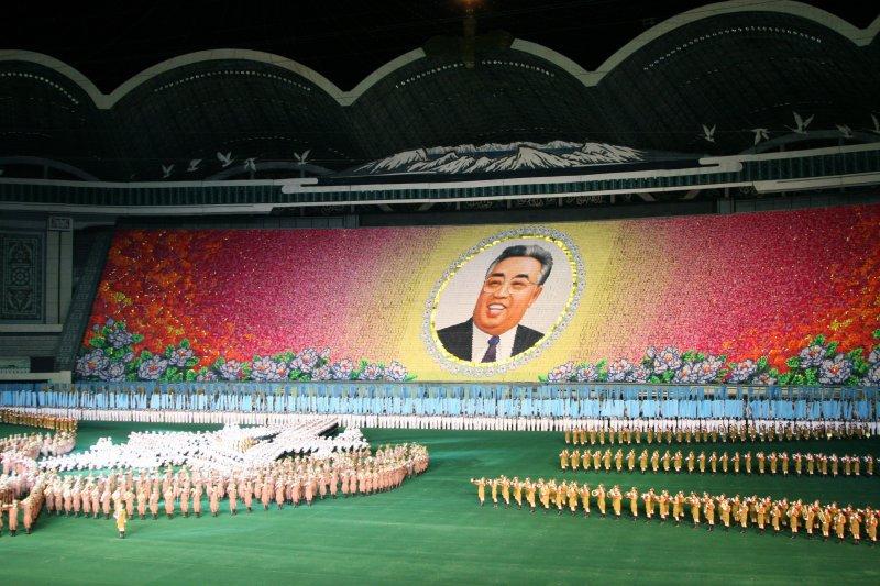 President Kim Il Sung display, Pyongyang