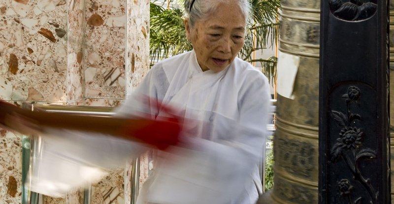 <B>Call to Prayer </B> <BR><FONT SIZE=2>Chau Doc, Vietnam, January 2008</FONT>