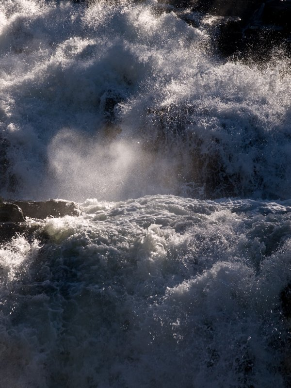 <B>The Heart of the Falls</B> <BR><FONT SIZE=2>Fallen Leaf Lake, Lake Tahoe, California - May 2008</FONT>