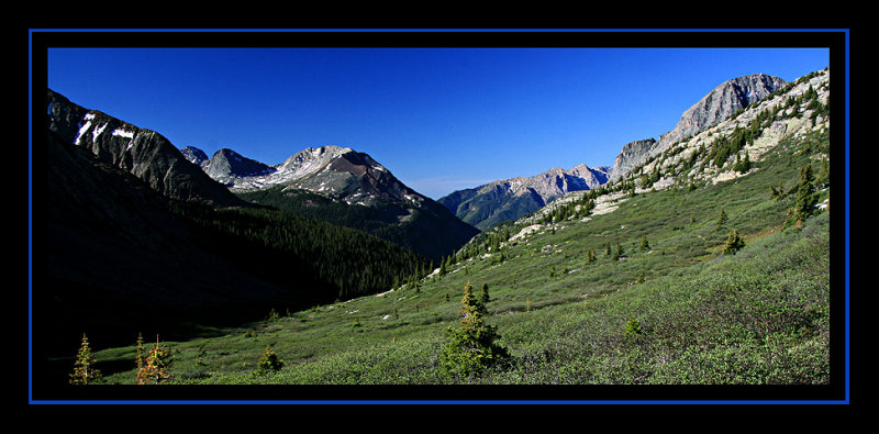 Descending Hunchback Pass to the Vallecito