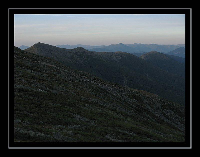Mount Washington - 6:33 AM, August 20, 2010