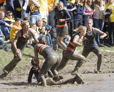 2008 Mud Bowl - University of Michigan