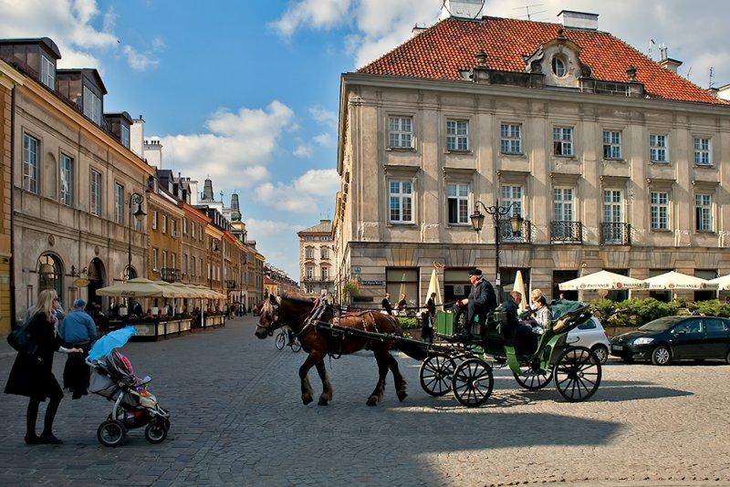 Carriage At Freta Street