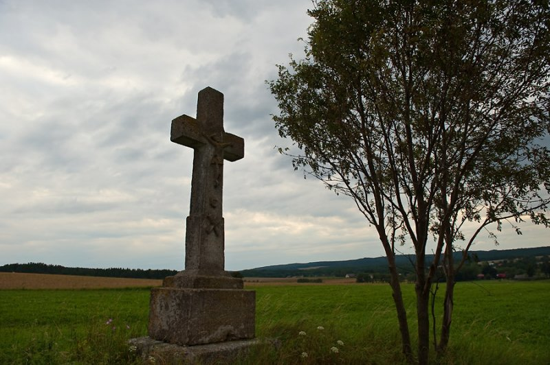 Cross In The Fields