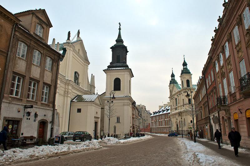 Freta Street In New Town