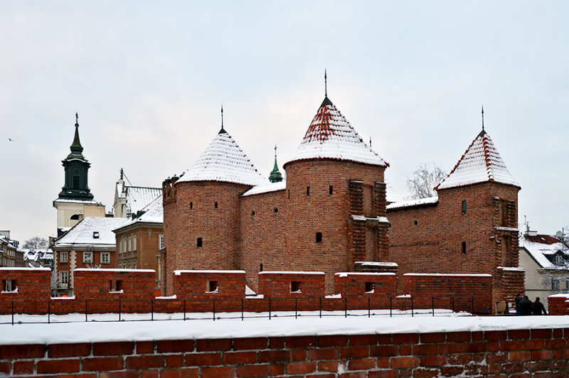 Barbican In Winter