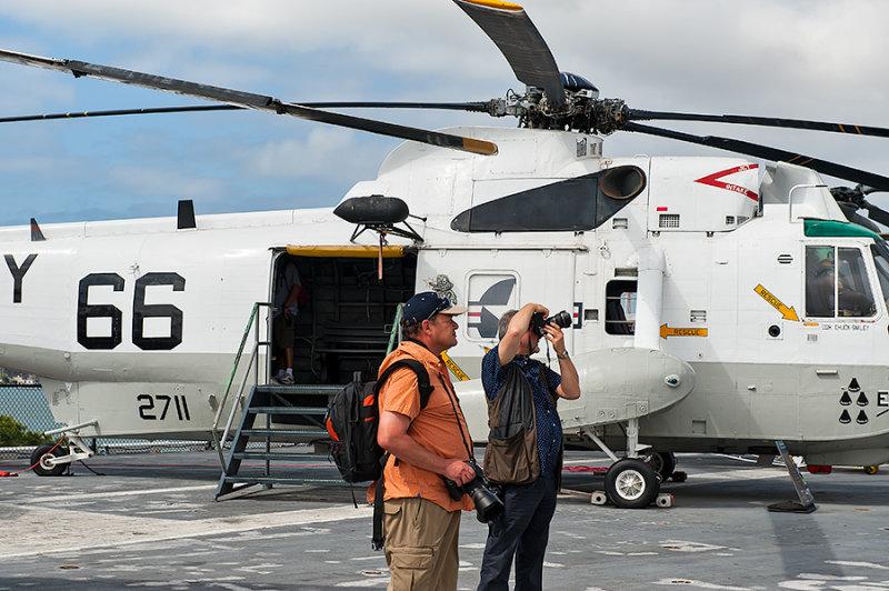On Board USS Midway