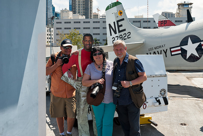 Three Of Us With A Cardboard Pilot