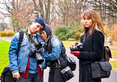 Jerry, Ania and Kasia