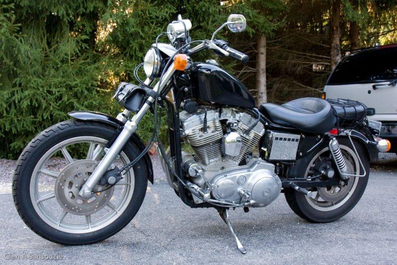 1989 Harley Davidson Sportster 883 (Hugger)