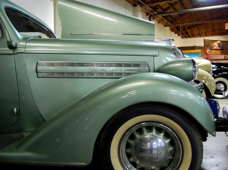1936 Graham Supercharged Sedan