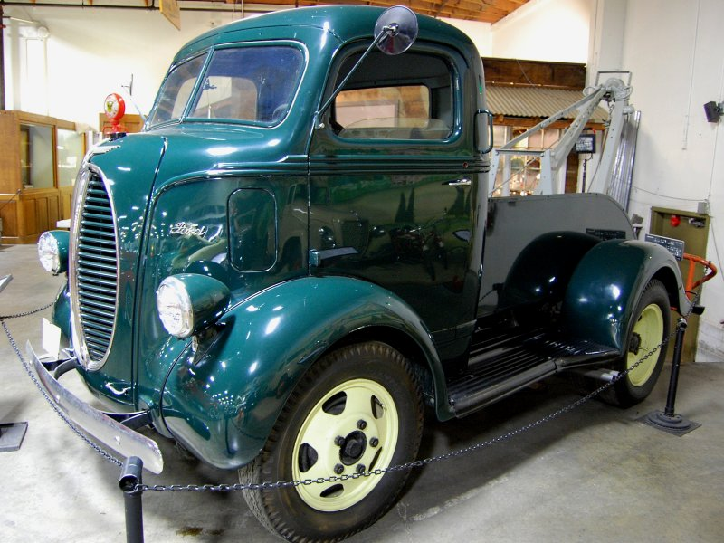 1940 Ford Cabover tow truck photo - MontereyDave photos at ...