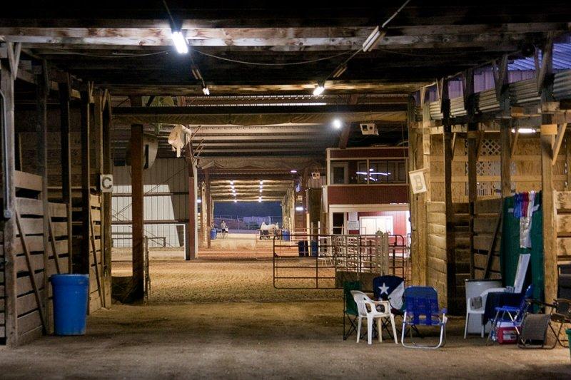 Show Barn at Dawn