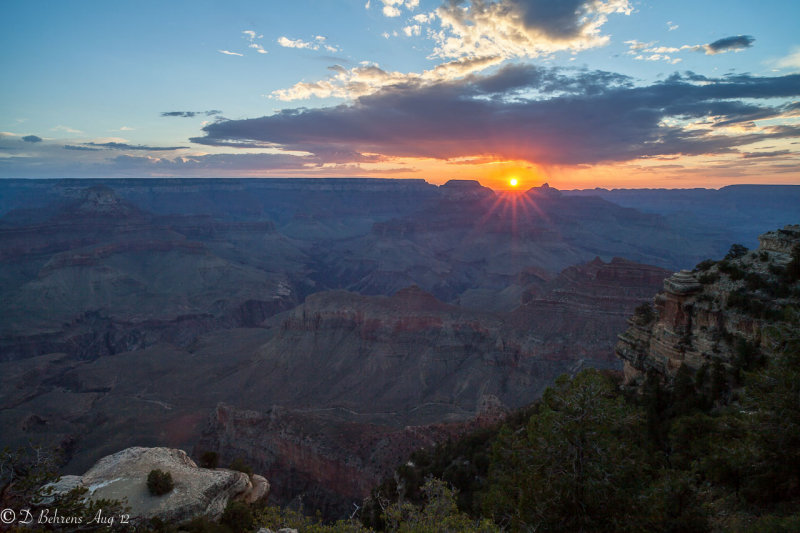 South Rim from Yaki Point