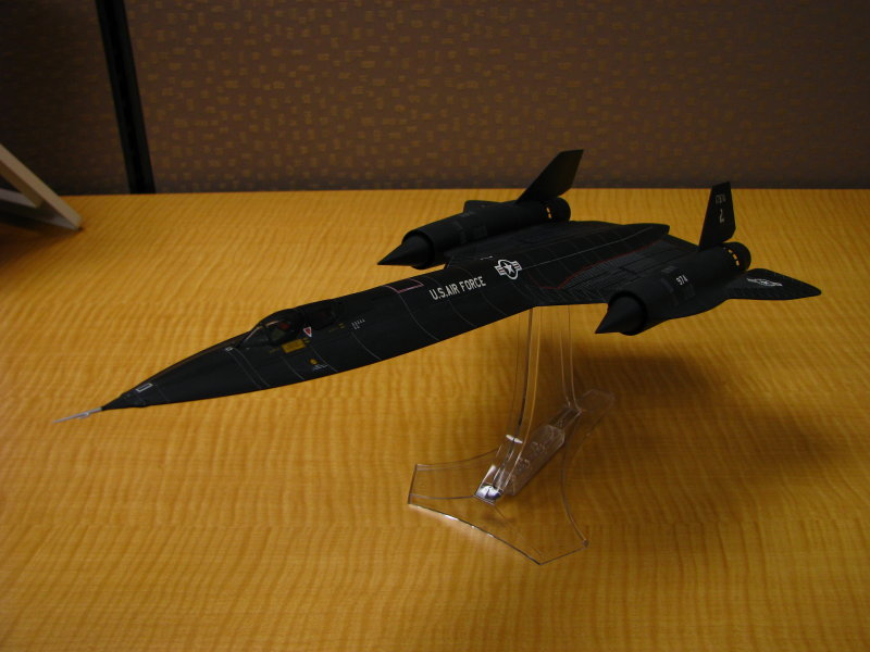 Lockheed SR-71 A Blackbird - USAF 9th SRW, 17974 Ichi Ban Kadena AFB Japan 1968