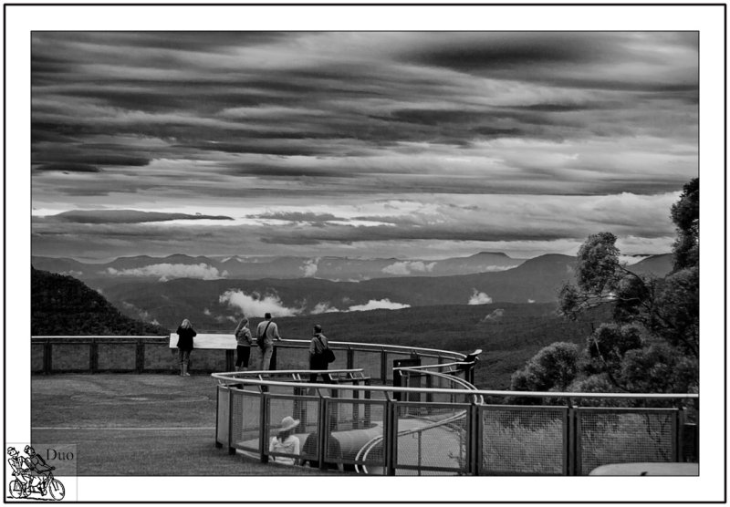 Storm Threatening from Blue Mountains Lookout.