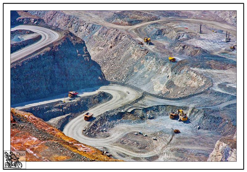 Huge Open Cast<br> Gold Mine<br> Kalgoorlie.<br>Western Australia