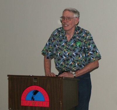 Norm Thomas, worked with Burnham many years on the Proper Motion Survey @ Lowell &