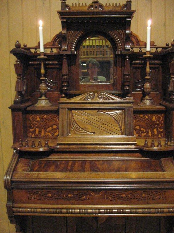 An Old Harmonium, Detail  2 (2)