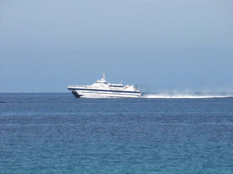 Balear Jet Passing Illetes -  September 2012