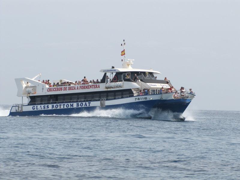Ibiza Boat Trip - September 2012