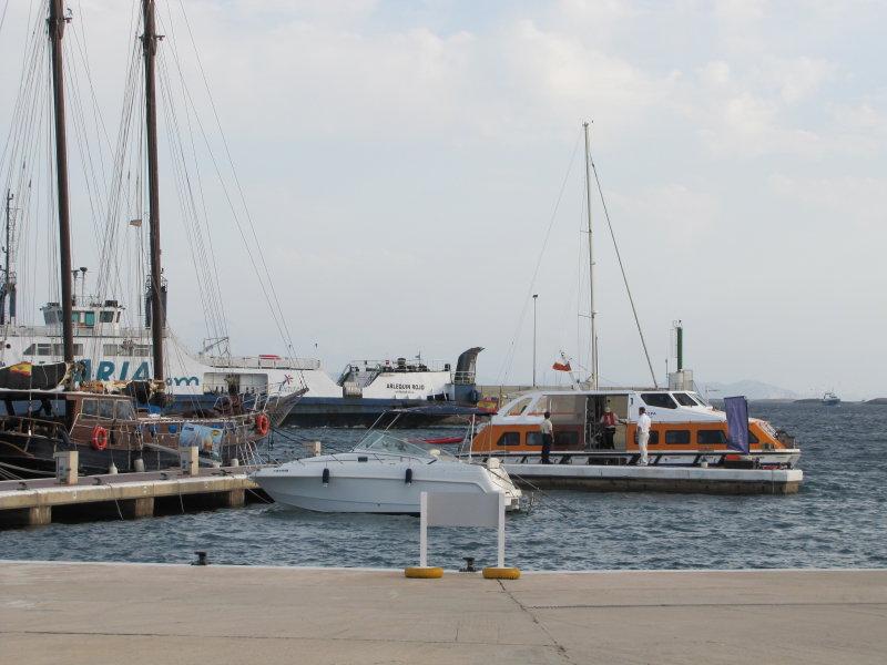 Tender to Cruise Ship Europa