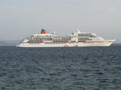 Cruise Ship Europa off La Savina - September 2012