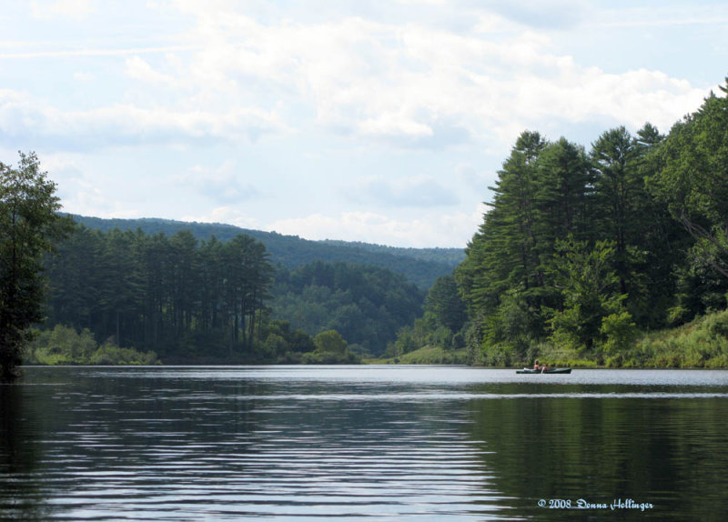 Kayaking in Hartland