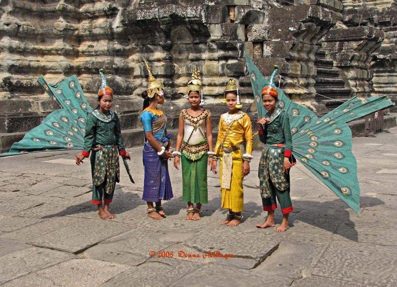 Modern Apsara at Angkor