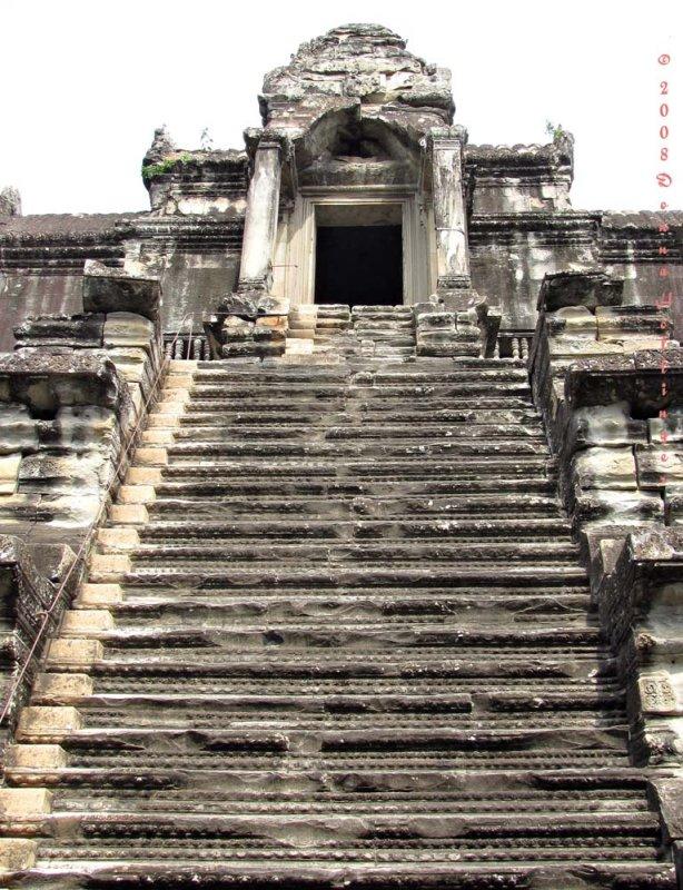 Angkor Stairway