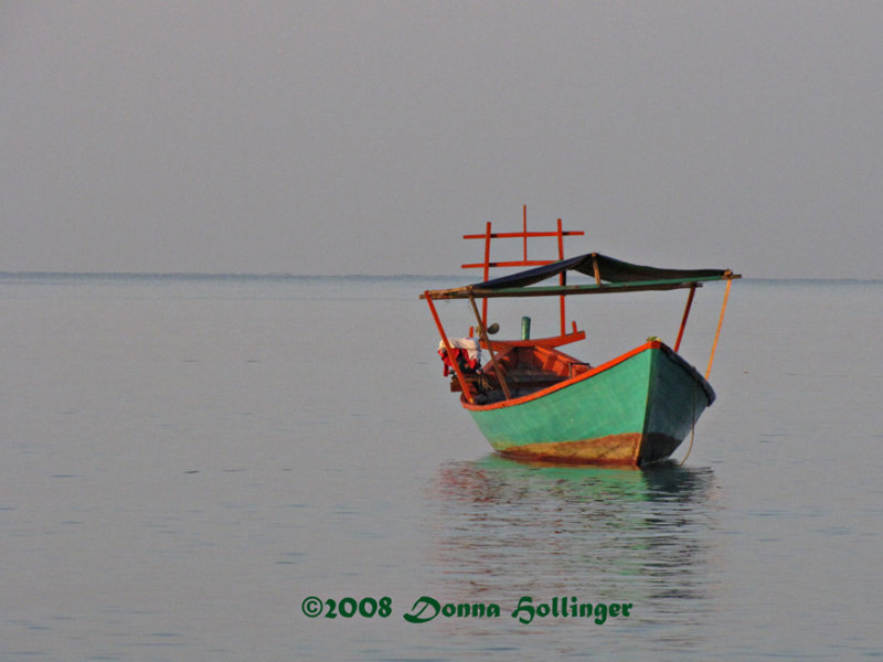 Boat in Calm Waters