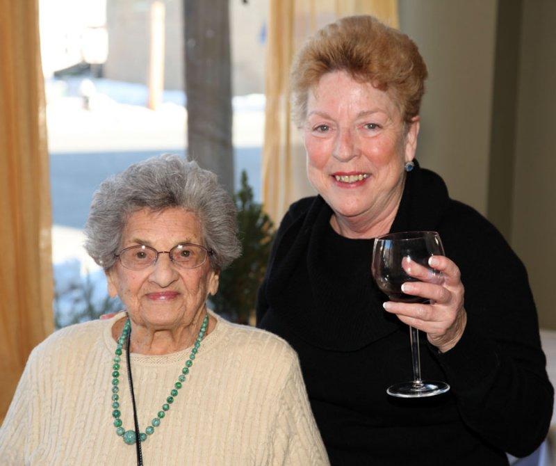 Nina and Diane